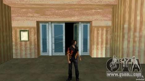 Mr Fire with čërnimi jeans for GTA Vice City