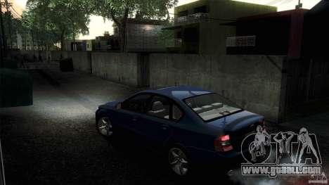 Subaru Legacy B4 3.0R specB for GTA San Andreas back view