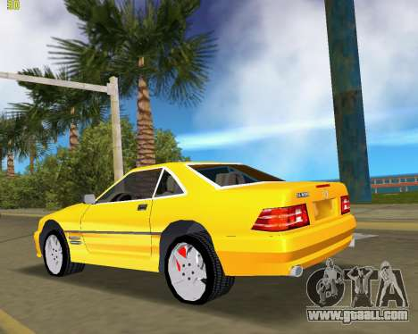 Mercedes-Benz SL600 1999 for GTA Vice City back left view