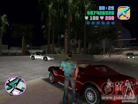 Phobos VT from Gta Liberty City Stories for GTA Vice City back left view