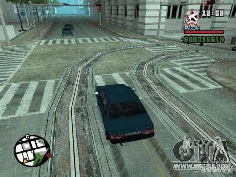 Todas Ruas v3.0 (San Fierro) for GTA San Andreas eighth screenshot