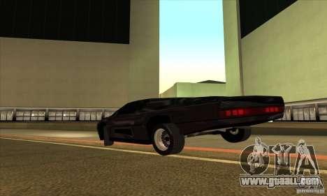 Dodge M4S Turbo Interceptor Wraith 1984 for GTA San Andreas right view