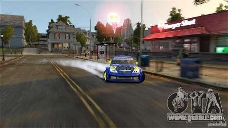 Subaru Impreza WRX STI Rallycross BFGoodric for GTA 4 bottom view