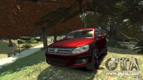 Volkswagen Tiguan 2012 for GTA 4 back view