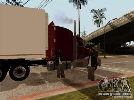 Peterbilt 377 for GTA San Andreas right view