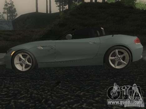 BMW Z4 for GTA San Andreas left view