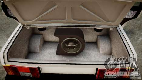 VAZ 21099 Light Tuning for GTA 4 inner view