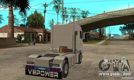 Scania 143M 500 V8 for GTA San Andreas right view