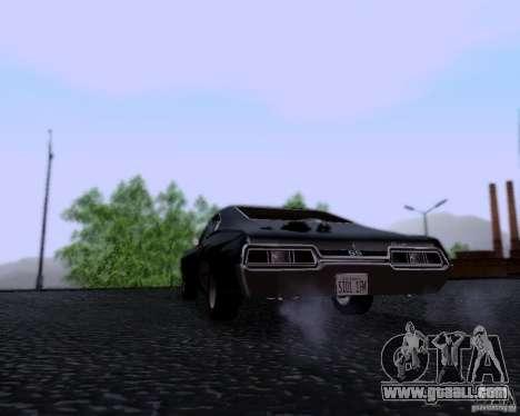 Super Natural ENBSeries for GTA San Andreas third screenshot