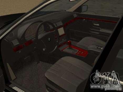 BMW 740I E38 (RUS) for GTA San Andreas right view