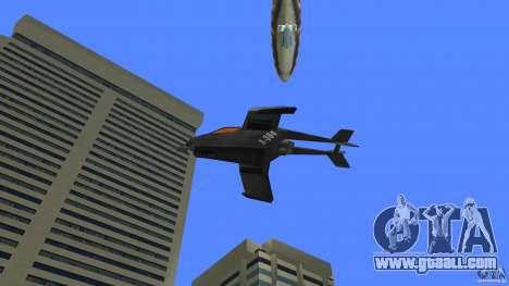 X-304 Gunship for GTA Vice City right view