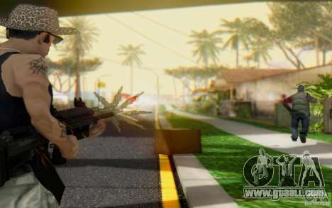 Saiga 12 c from Warface for GTA San Andreas second screenshot