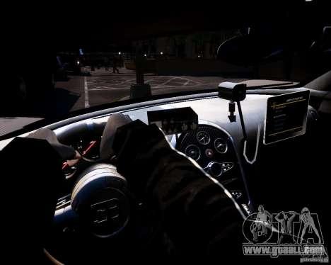 Bugatti Veryon SS COP for GTA 4 back view