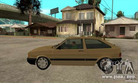 VW Gol GL 1.8 1989 for GTA San Andreas left view