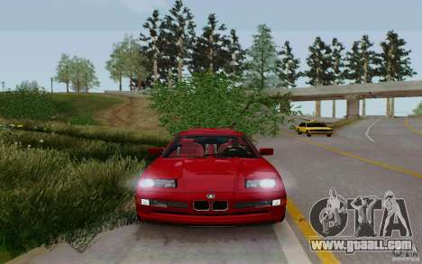 BMW 850i v2.0 Final for GTA San Andreas back left view