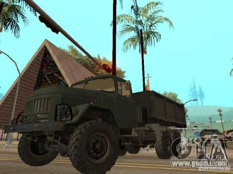 ZIL 131 Truck for GTA San Andreas interior