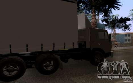 KAMAZ 55111 for GTA San Andreas back left view