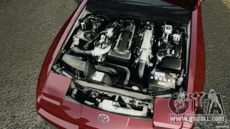 Toyota Supra 3.0 Turbo MK3 1992 v1.0 [EPM] for GTA 4 upper view