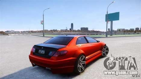 Schafter2 Sedan for GTA 4 back left view