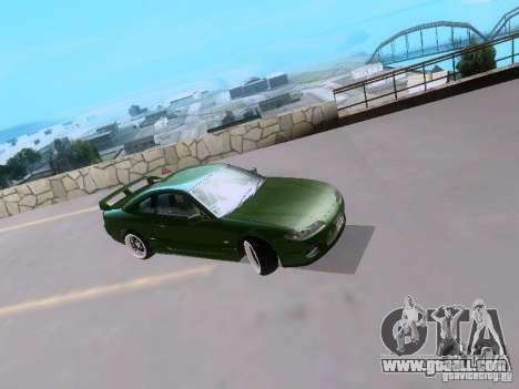 Nissan Silvia S15 drift for GTA San Andreas left view