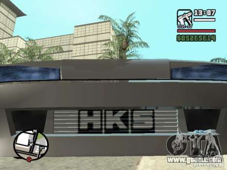Elegy First Update By reNz for GTA San Andreas back view