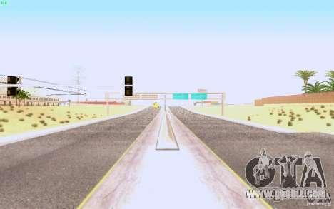 HQ asphalt in Las Venturase for GTA San Andreas second screenshot