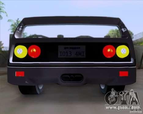 Ferrari F40 for GTA San Andreas back left view
