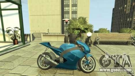 Yamaha YZR M1 Street Version for GTA 4 left view