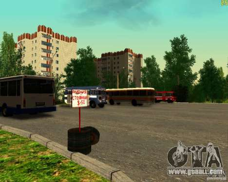 Fleet in Anaheim for GTA San Andreas fifth screenshot