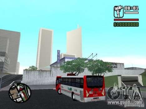 Caio Millennium TroleBus for GTA San Andreas left view
