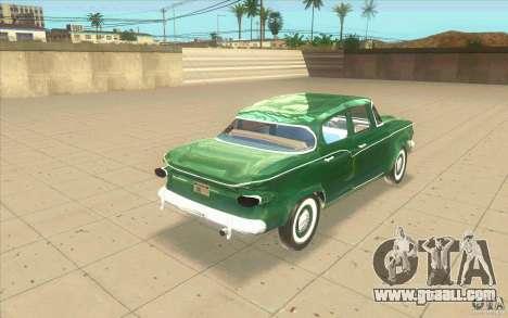 Studebaker Lark 1959 for GTA San Andreas back left view