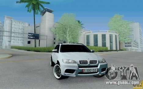 BMW X5M E70 for GTA San Andreas
