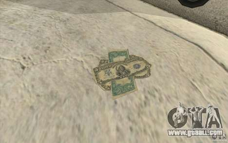 New money for GTA San Andreas second screenshot