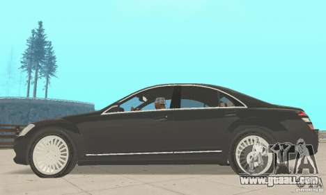 Mercedes-Benz S500 (w221) 2006 for GTA San Andreas right view
