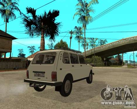 Vaz 2131 Niva for GTA San Andreas back left view