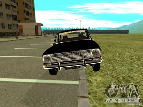 GAZ-24 Volga 01 for GTA San Andreas back left view