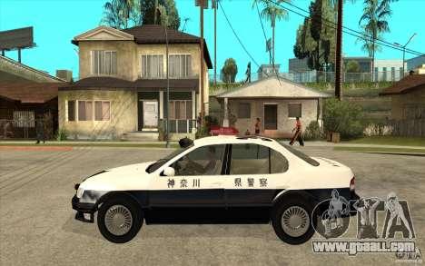 Nissan Cefiro A32 Kouki Japanese PoliceCar for GTA San Andreas back view