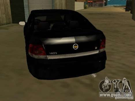 Chevrolet Vectra Elite 2.0 for GTA San Andreas back left view