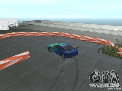 New Drift Track SF for GTA San Andreas eighth screenshot