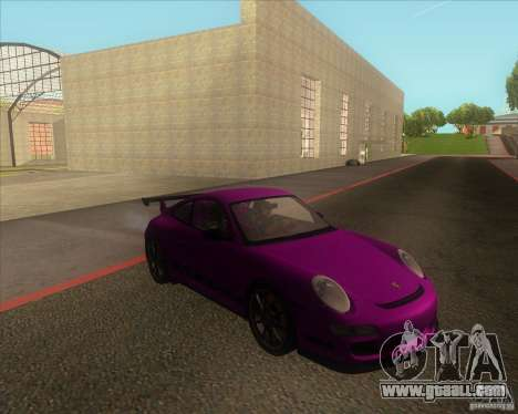Porsche 997 GT3 RS for GTA San Andreas back left view