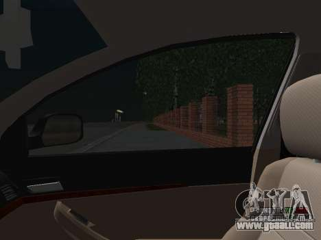 Toyota Avensis DPS for GTA San Andreas bottom view
