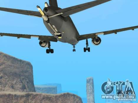 Boeing KC767 U.S Air Force for GTA San Andreas inner view
