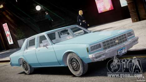 Chevrolet Impala 1983 [Final] for GTA 4