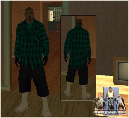 Skin Pack Getto for GTA San Andreas