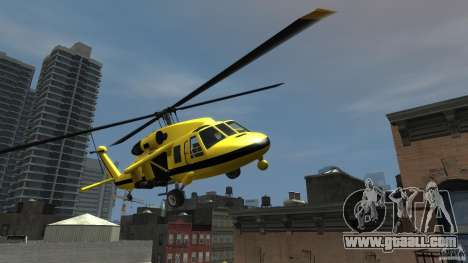 Yellow Annihilator for GTA 4 back view