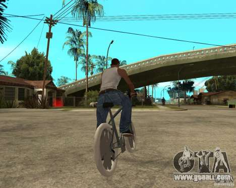 Kona Kowan texture for GTA San Andreas back left view