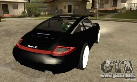 Porsche 911 Targa 4 for GTA San Andreas right view