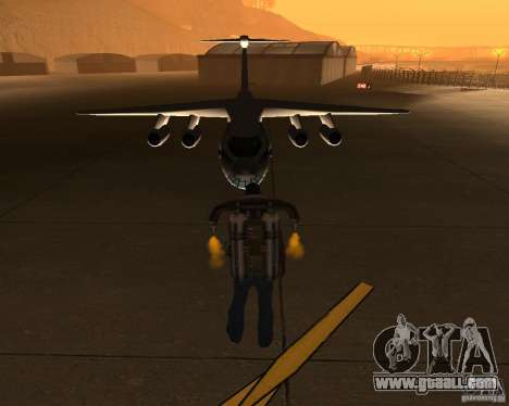 The IL-76 for GTA San Andreas back view