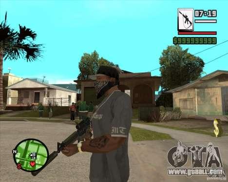 HQ M4A1 - DMG MK11 for GTA San Andreas second screenshot