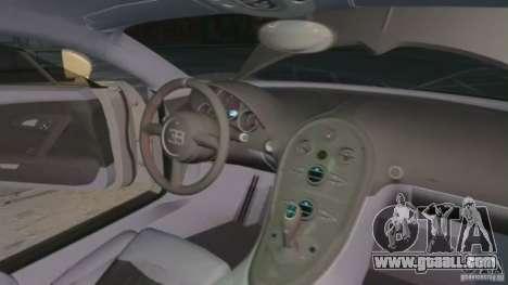 Bugatti Veyron 16.4 Super Sport for GTA 4 upper view